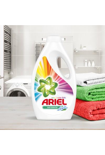 Ariel Sıvı Çamaşır Deterjanı Parlak Renkler 24 Yıkama 2'li Paket (48 Yıkama)