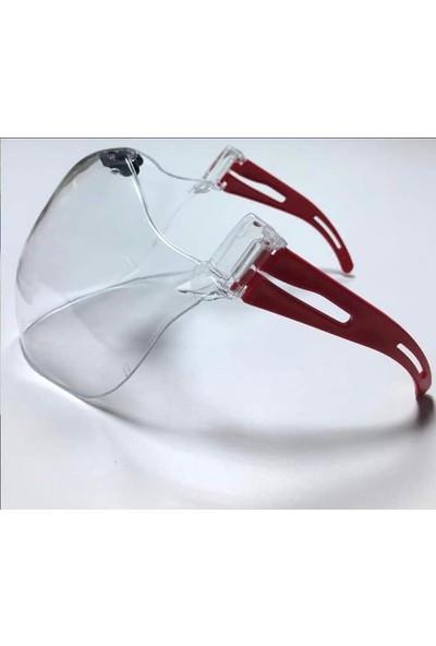 Foccaa Dizayn Petak Stay Safe Yıkanabilinir,koruyucu,dayanıklı Maske/siperlik 3 Lü Paket