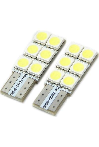 Sunled Vw Golf 7 Beyaz LED Plaka Lambası Ampul Seti