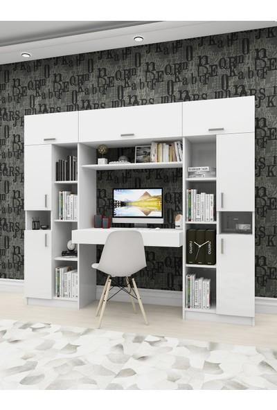 Rosette Livana Ev Ofis Çalışma Masalı Kitaplık