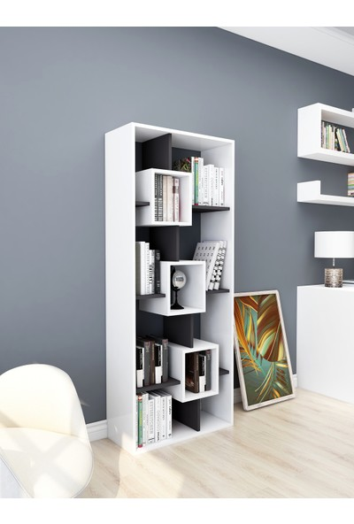 Rosette Lumira Dekoratif Kitaplık