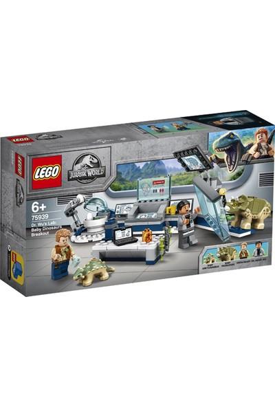 75939 Jw - Dr Wun Yavru Dinozorların Kaçışı Jurassic World 164PCS LEGO