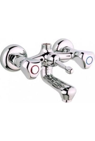 Sardıcı Banyo Bataryası Klasik Duş Bataryası Çevirmeli Banyo Bataryası