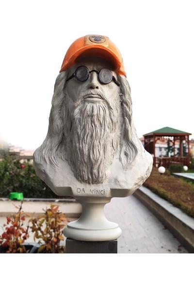Bun Design Leonardo Da Vinci Büstü