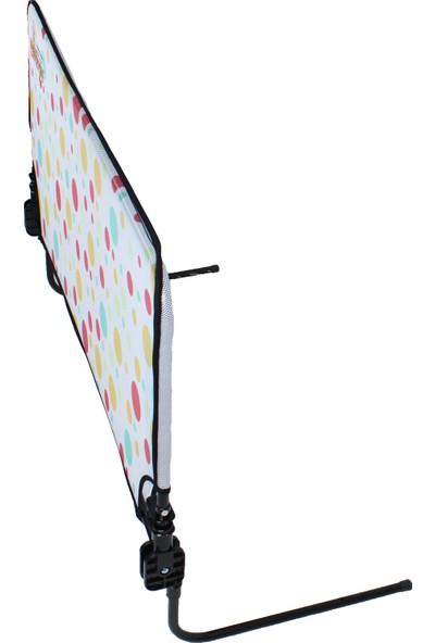 Agubugu Baby - Çok Renkli Puantiye Desenli Yatak Bariyeri 120CM