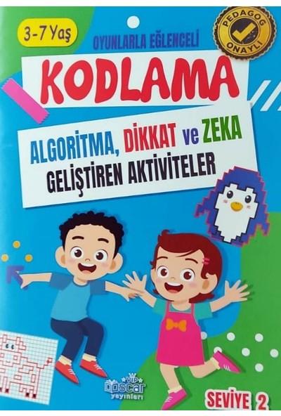 Harika Çocuk Yayınları Kodlama Dikkat ve Zeka Geliştirici Aktivite Kitapları 3 - 7 Yaş