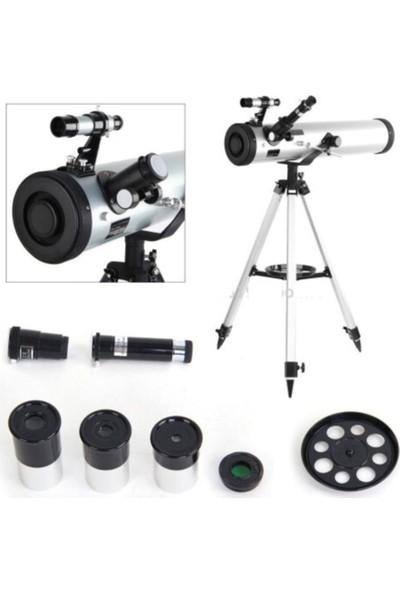Zoomex F70076TX 350X Astronomik Teleskop