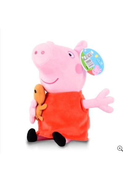 Peppa Pig Peluş (19 Cm) Orjınal Sıfır Ürün