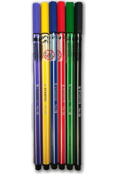 Stabilo 68 Pen Rekli Kalem Set 6'lı