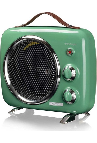 Ariete Vintage Fanlı Isıtıcı ve Soğutucu Yeşil