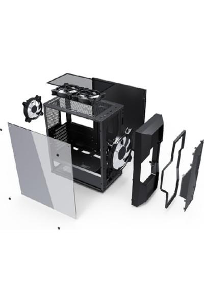 GameBooster GB-G2057B USB3.0, 1x20cm ARGB Mesh Panel Gaming Kasa (PSU Yok) (JBST-GBG2057B)