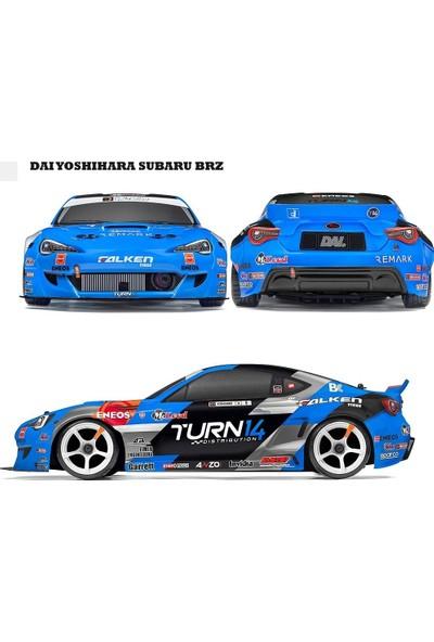 Hpı Racıng Rs4 Sport 3 Drıft Daı Yoshıhara Subaru Brz Drıft 1/10 Elektrikli Uzaktan Kumandalı Araba