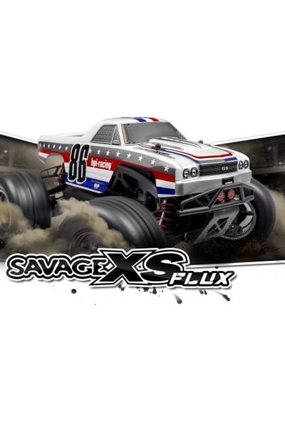 Hpı Racıng Savage Xs Flux Chevrolet El Camıno Ss 1/16 Fırçasız Elektrik Motorlu Uzaktan Kumandalı Araba
