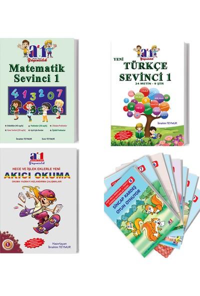 A1 Yayıncılık 1. Sınıf 2. Dönem Tüm Dersler Set - 4 Kitap