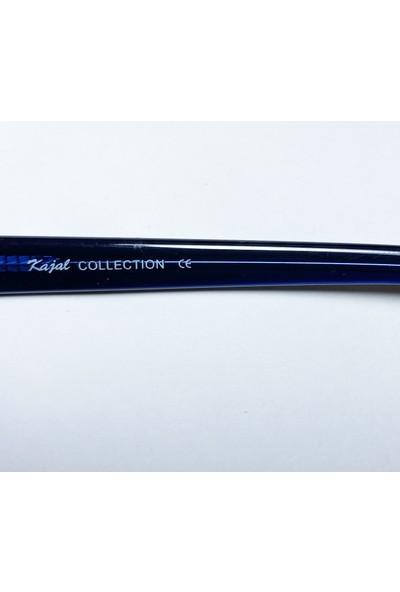 KC K.c. Kajal Collection Italya Üretimi Vintage Retro Güneş Gözlüğü Siyah S16B Bwbl