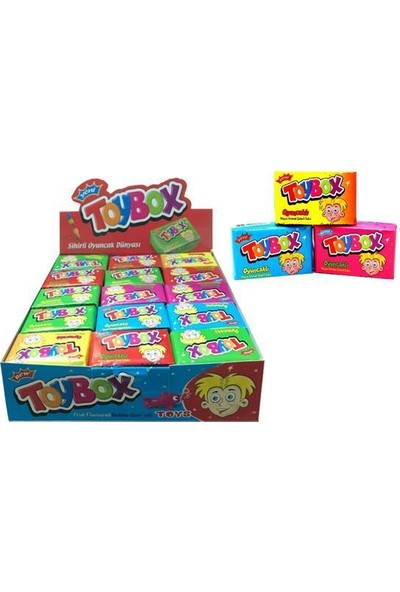 Toybox Oyuncaklı Sakız 30 x 5 gr