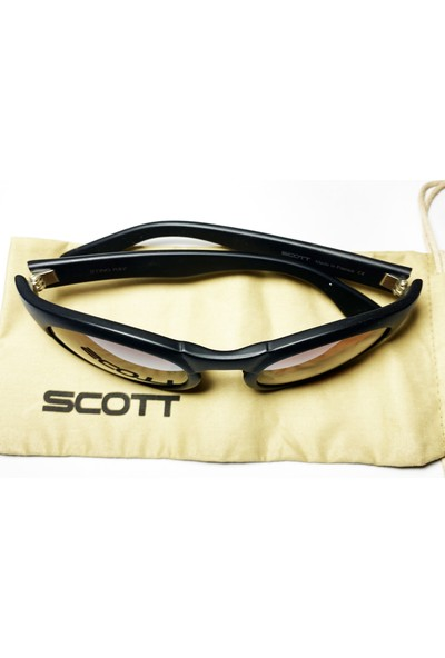 Scott Sting Ray Spor Bisiklet Güneş Gözlüğü Fransız Aynalı Siyah/kırmızı