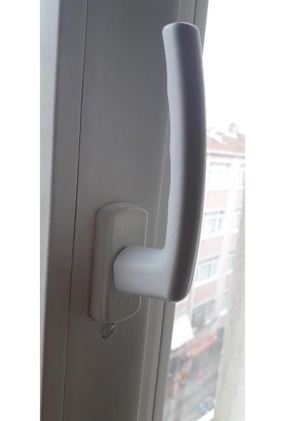 Pimapen Marka Beyaz Pvc Pencere Kolu Alüminyum Kol