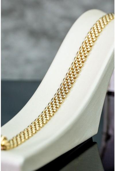 İdeal Sarraf 14 Ayar Altın Gold Spor Bileklik