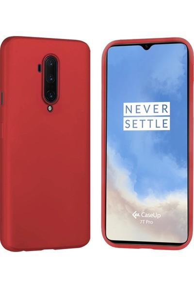 CaseUp OnePlus 7T Pro Kılıf, CaseUp Matte Surface Kırmızı