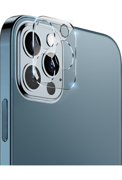 Microsonic Apple iPhone 12 Pro Kamera Lens Koruma Camı