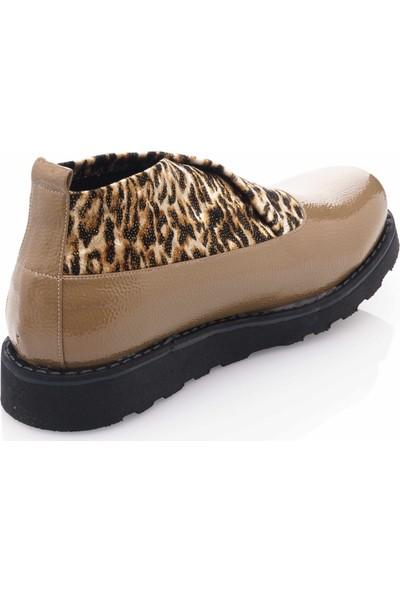 İriadam 43 Numara 17355 Vizon Büyük Numara Gündelik Kadın Ayakkabısı