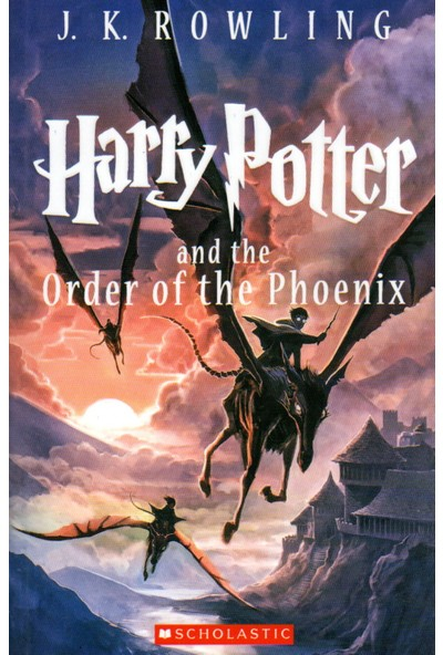 Harry Potter And The Order Of The Phoenix - Book 5 - J. K.. Rowling