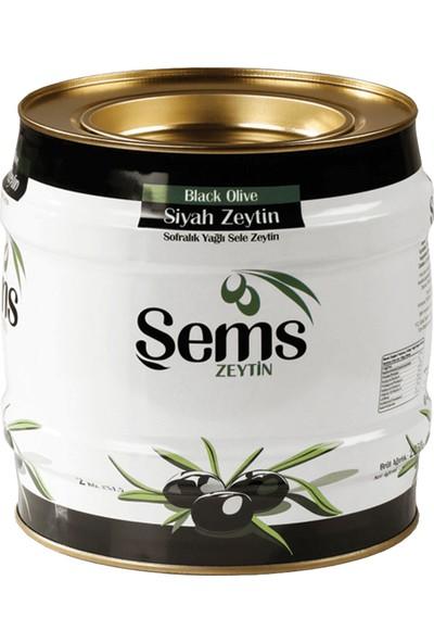 Şems Yağlı Sele Siyah Zeytin 2 kg (261-290)