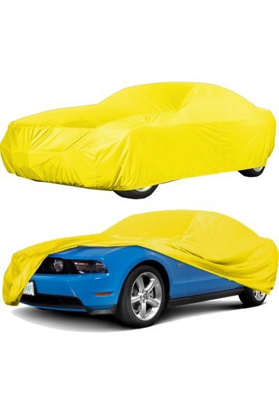 CoverPlus Chevrolet Aveo Sedan Sport Araba Brandası Oto Branda,Araba Çadırı- Sarı