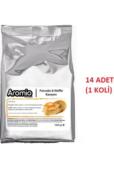Aromio Pancake & Waffle Hazır Karışım 1 kg x 14 ( 1 Koli )
