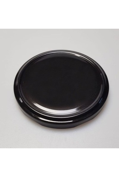 Rastaş Siyah Standart Metal Kapak 25 Adet 82 mm