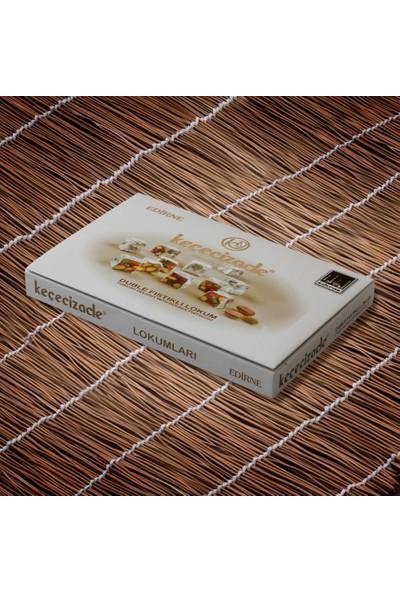 Keçecizade Badem Ezmesi 640 gr + Antepli Kavala Kurabiyesi 445 gr + Lokum 420 +Trakya Doğal Market Türk Kahvesi
