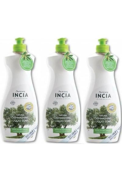 Incia Doğal Bulaşık Sabunu 500 ml x 3'lü