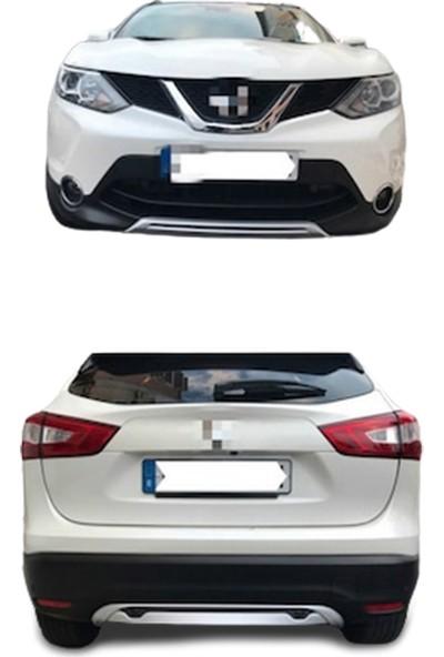 Blueoto Nissan Qashqai Ön Arka Tampon Koruma Difüzör ( 2014-2015-2016-2017 ) Ithal Blueoto