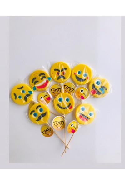 Fenomen Çubuklu Lolipop Sosyete Şekeri Emoji