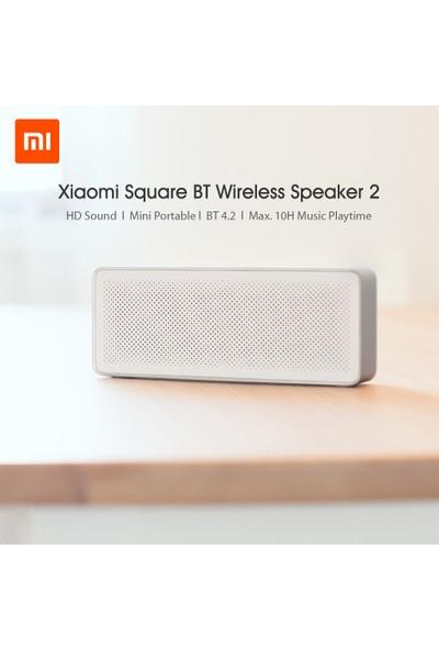 Xiaomi Mi Bt Hoparlör Kare Kutu 2 Stereo Taşınabilir (Yurt Dışından)