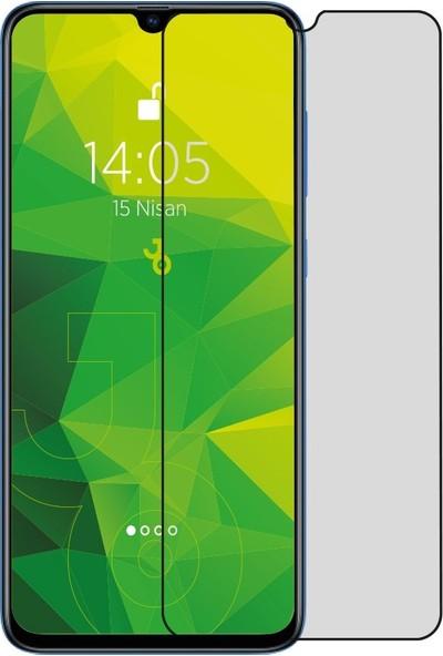 Jopus Oppo A31 Hayalet Ekran Privacy Görünmez Gizli Tam Kaplayan Cam