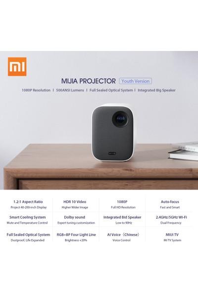 Xiaomi Mijia Android Tv Box Akıllı Lazer Dlp Projeksiyon - 500 Ansı Lümen - 1080P (Yurt Dışından)