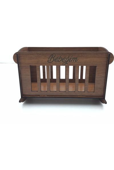 Sıradışı Hediyelik Dollhouse Oyuncak Malzemeleri Bebeğim Beşik