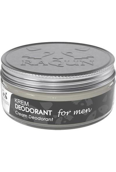 Raqun Organik Içerikli Krem Deodorant For Men 50 ml