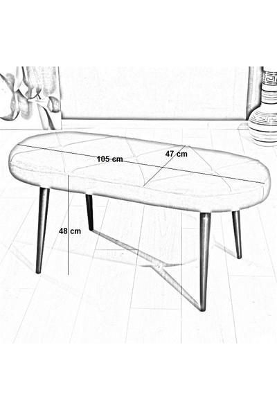 Mymassa Soho Bench Sandalye - 11 Renk - Ahşap Ayak