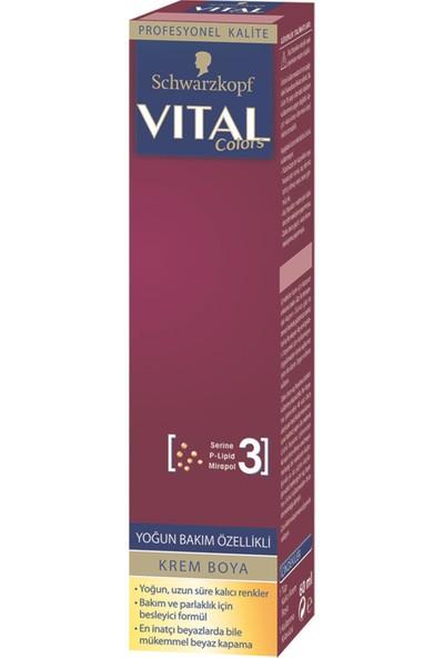 Schwarzkopf Vital Colors Saç Boyası Metalik Bakır 7-887+OKSIDAN x 2