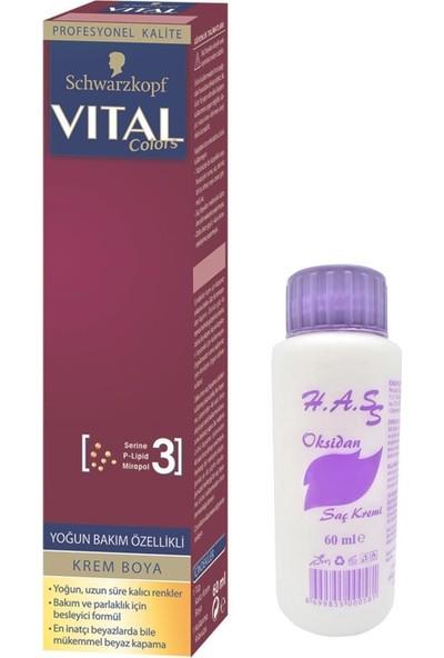 Schwarzkopf Vital Saç Boyası 60 ml+Oksidan 60 ml