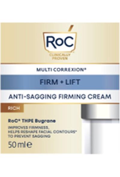 Roc Sarkma Karşıtı Sıkılaştıcı Bakım Kremi Zengin Formül 50 ml