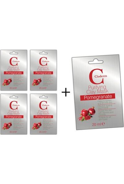 Claderm Pomegranate 20 ml 5'li Paket