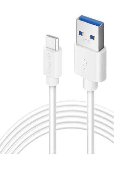 Olesit 2.4A Micro USB Şarj ve Data Kablosu 3 mt