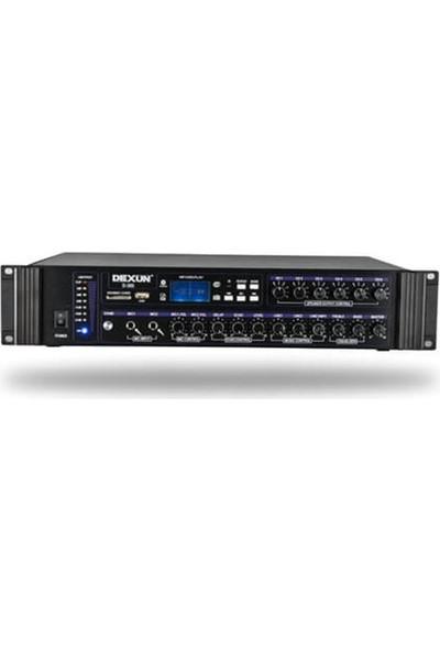 Dexun D-300 250 Watt Hat Trafolu 6 Bölgeli Zonlu Amfi