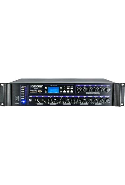 Dexun D-400 500 Watt Hat Trafolu 6 Bölgeli Zonlu Amfi