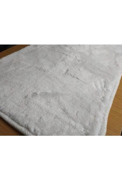 Başaran Tekstil Kaymaz Tabanlı Pofuduk Kalın Paspas 50 x 80 cm