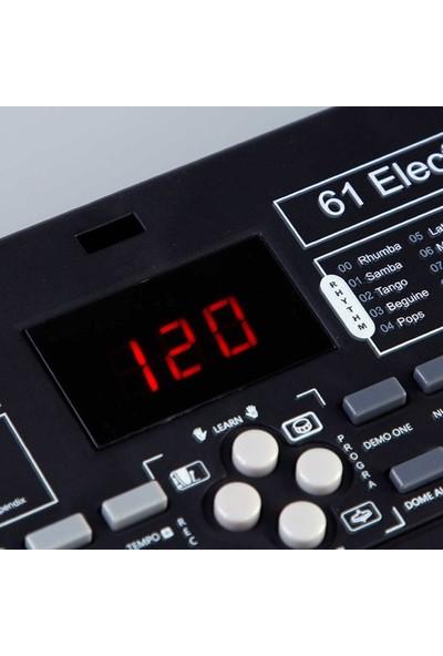Can İthalat 61 Tuşlu Büyük Elektronik Mikrofonlu Org HY-6102A